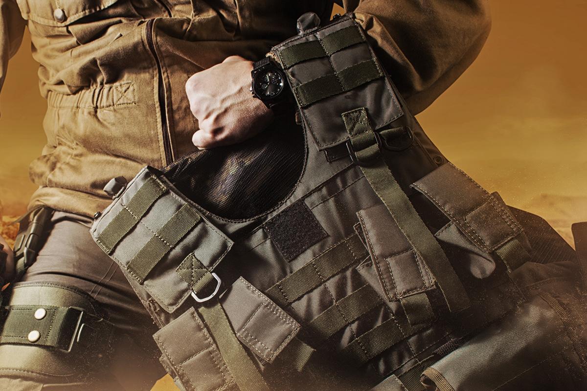 Bulletproof vest - Hakofix® FR flame retardant