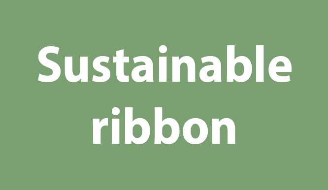 Sustainable ribbon
