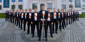 A student choir from Bergen Norway