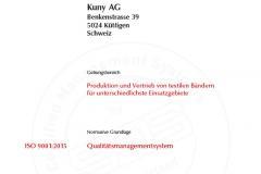 Kuny AG ISO