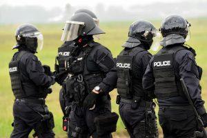 Schutzbekleidung Polizei