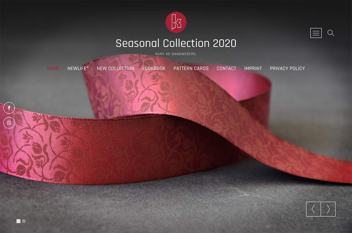 Seasonal Website Kuny AG